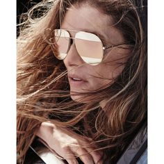 Dior DiorSplit Two-Tone Metallic Aviator Sunglasses ($590) ❤ liked on Polyvore featuring accessories, eyewear, sunglasses, christian dior sunglasses, mirrored aviator sunglasses, two tone lens sunglasses, mirror lens sunglasses and aviator style sunglasses
