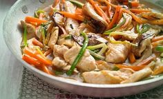 Putenpfanne China Art, low carb Diät rezept