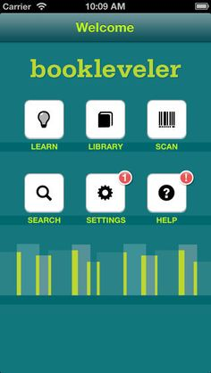 BookLeveler ($0.00) BookLeveler helps educators, parents, and librarians quickly and easily find appropriately leveled content for young readers. App users can scan the ISBN barcode of a book or search for content by title and/or author to appropriately level and store that content based on their in-classroom experience.