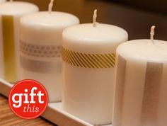 DIY+Handmade+Gifts+::+Washi+Tape+Candles+by+Sarah+Hearts