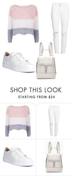 """""""Pastel"""" by deeplystylish on Polyvore featuring DL1961 Premium Denim, Christian Louboutin and Rebecca Minkoff"""