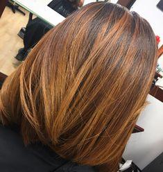 My Hair Color Creation ❤️ #RachelRedd #AtlantaColorist #RachelReddSalonStudio #Goldwell #Hairpainting #Highlights #Olaplex #EthnicHair #Dimension