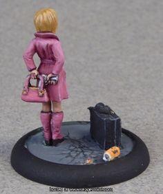 Reaper Miniatures Agatha Fox, Female Spy ($4.29) Andrew Rae
