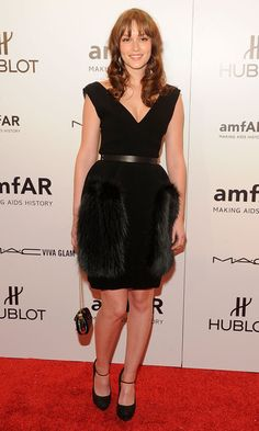 Actress Leighton Meester attends the amfAR New York Gala To Kick Off Fall 2012 Fashion Week at Cipriani Wall Street on February 8, 2012 in New York City.