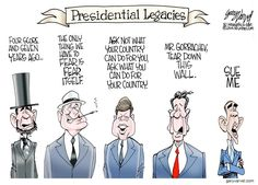 "This ""Presidential Legacies"" cartoon really puts Obama's failures in perspect"