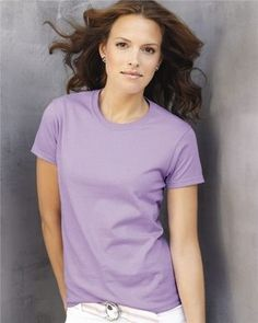 815065afbf Women s 100% Preshrunk Cotton Feminine Cut Tee