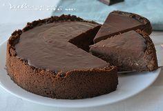 New York cheesecake al cioccolato , un dolce americano per eccellenza ma al doppio cioccolato, al latte e fondente un tripudio di golosità e sapore