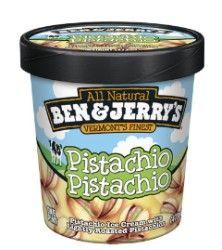 Ben & Jerry's Pistachio Pistachio Ice Cream