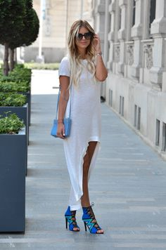 LOVE!!! THESE SHOES;) Mara D shoes HERE: http://www.mara-d.com/collections/shoes/products/mara  Sheinside dress HERE: http://www.shein.com/White-Short-Sleeve-High-Low-Dress-p-212097-cat-1727.html?utm_source=zorannah.com&utm_medium=blogger&?url_from=zorannah