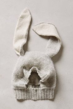 Бесконечные идеи...: Шапка-зайчик