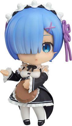 Re:Zero kara Hajimeru Isekai Seikatsu Re:Zero Starting Life in Another World Nendoroid Action Figure Rem 10 cm ( Good Smile Company )