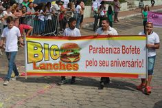Desfile Cívico do Aniversário de Bofete - 135 anos - Comércios - Big Lanches