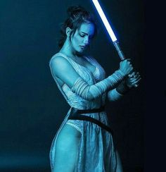 The Force - along with the cleave and the thick, sexy thighs - is with you, Rey. ❤❤❤ YOU LITTLE STRONG AND BEAUTIFUL BITCH