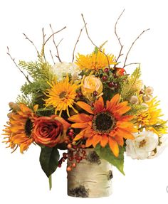 Celebrate the transition into Fall with gorgeous flowers in Autumn Shades.