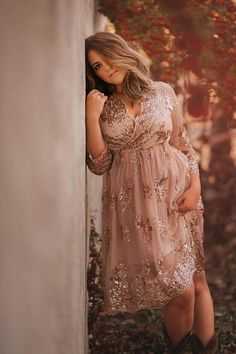 76ec5242 If you like Gold maternity, you might love these ideas. Sequin Maternity  Gown ...