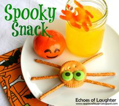 A Spooky Snack...for Halloween! Great for little ones!