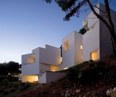 Architect Alvaro Siza - House in Mallorca, 2007.