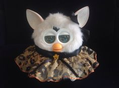 """Outfit for Furby or New Furby Boom Handmade Clothes """"Cheetah Bling"""" 
