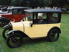 1926 Austin 7 Box saloon, or the Baby Austin. Gorgeous paint job, and this is car two on the vintage wish list.
