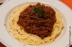 Wos zum Essn: DIE perfekte Veggie-Bolognese: Soja-Bolognese!