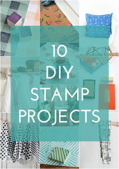 10 DIY Stamp Projects