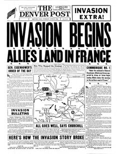 what does d day invasion stand for