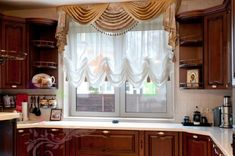 Valance Curtains, House Design, Windows, Ideas, Wall, Kitchen, Home Decor, Classic, Decorative Curtains