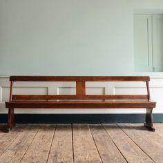 A flip back school bench,