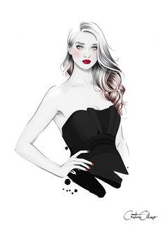 Book Illustrations for 'Secretos de Chicas' by Patry Jordan (Penguin Random House) Pencil Art Drawings, Art Sketches, Burgundy Fashion, Fashion Wall Art, Fashion Sketches, Fashion Illustrations, Artist Art, Art Pictures, Art Girl