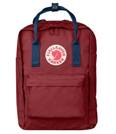 Kanken 13 inch ox red royal blue (326-540) Fjallraven | The Little Green Bag