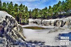 Die Sandhöhlen im Heers bei Blankenburg unter der Burgruine Regenstein. In der Harzer Wandernadel eingetragen als Stempelstelle 81. Infos im HWG-Blog!  #sandhöhlen #sandhöhlenimheers #heers #harzerwandernadel #stempelstelle #sandhutsche #blankenburg #harz #harzbilder #nordharz #vorharz #wandern