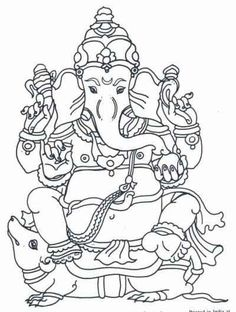 Children's Corner - Arts & Crafts - Coloring projects Good for lessons on Hinduism