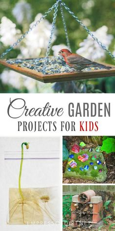 Garden Projects for Kids Gardening projects to do with kids.Gardening projects to do with kids. Diy Garden Projects, Outdoor Projects, Projects For Kids, Art Projects, Olive Garden, Nature Crafts, Art Crafts, Cool Ideas, Art Ideas