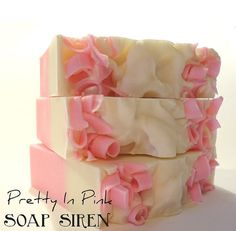PRETTY IN PINK Handmade Soap- Soap Siren