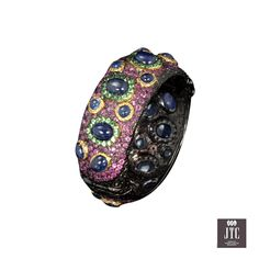 Gemstone Bangle by Mc Jewelry @Jewelry Trade Center (Bangkok) Mr.Teeradad Sayamon has always had a strong passion for jewelry. Having spent many years working at a jewelry company, he gained a valuable wealth of knowledge about designing and making jewelry.