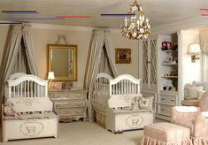 20 Nursery Ideas For Twin Babies elegant twins baby nursery