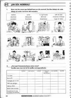 Risultati immagini per ejercicios de espanol