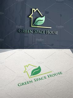 Property Design, Home Logo, Text Color, Vector File, Logo Templates, Photoshop, Logos, Green, Logo
