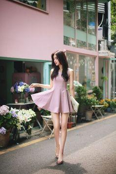 a lovely south korean woman