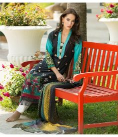 Ayesha Zara Embroidered Lawn Collection AZ_04A