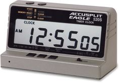 ACCUSPLIT AE520S Table TopTimer by ACCUSPLIT. $44.91. Amazon.com                The AccuSplit Eagle AE520S Tabletop Timer is excellent for use in sports programs, the gym, the classroom or any other area where timing is important. The AE520S has a timing range of 10 hours, and an alarm that sounds at a starting point you set at zero with the countdown or count-up function. The AccuSplit AE520S also has a built-in clock, and a stopwatch with cumulative split and ...