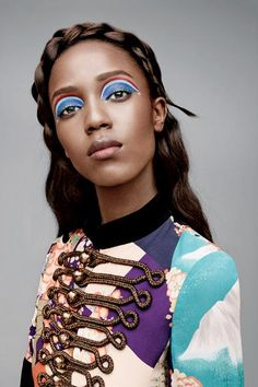 Bold eye makeup calls for bold colors! We're celebrating legendary makeup artist Pat McGrath by looking at her most amazing makeup shots in Teen Vogue