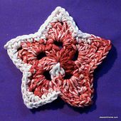 Ravelry: Stars & Stripes Bunting (or Coasters) pattern by Jessie Rayot