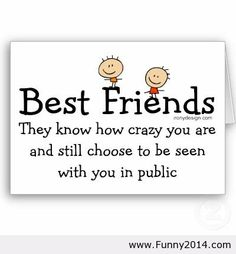 Best friends saying