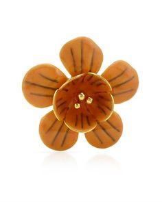 Brošňa v tvare kvetu od Pilgrim * Flower brooch by Pilgrim