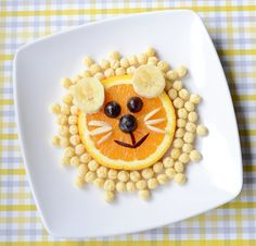 Food Art: A Lovely Lion Snack -