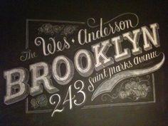 chalkboard (by dana tanamachi)