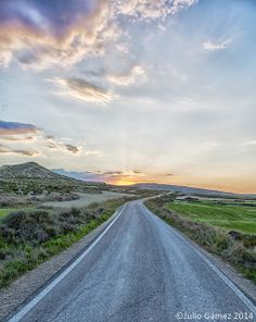 road: Bardenas Reales ,Navarra tombobodil julio gamez road2 | Flickr - Photo Sharing! Country Roads, Sky, Explore, High Road, Heaven, Heavens, Exploring