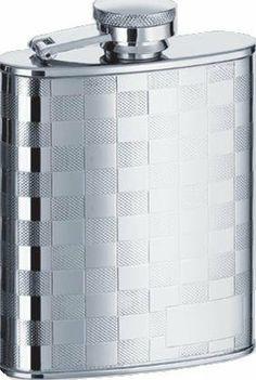 Mirror Finish High Quality Stainless Steel  8oz Hip Flask Biker Liquor HIP-0024