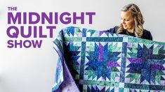 In this week's season finale, Angela does a little flower arranging (quilter's style!) to create Monique Jacobs' beautiful Bouquet quilt. Episode links below. Quilting Rulers, Longarm Quilting, Free Motion Quilting, Machine Quilting, Quilting Tips, Quilting For Beginners, Quilting Tutorials, Quilting Designs, Msqc Tutorials